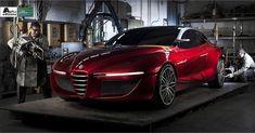 Alfa Romeo Gloria concept by IED, (2013)