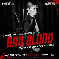 "Pin for Later: Taylor Swift's ""Bad Blood"" Is the Most Star-Studded Mini Movie"