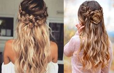 Try today. Braided Half Up Crown