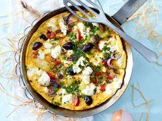 Unser beliebtes Rezept für Greek-Salad-Omelett und mehr als 55.000 weitere kostenlose Rezepte auf LECKER.de.
