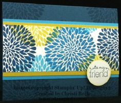 Betsy's Blossoms Card by beckcjb - Cards and Paper Crafts at Splitcoaststampers