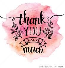 Image result for thank you hand lettering