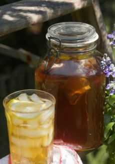 Nothing like summertime and sun tea