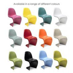 Verner Panton chair - different colours
