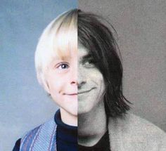 Kurt Cobain. This is so cool!