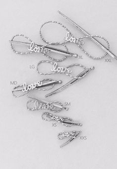 Lilla Rose Inc - Enjoy this sweet design, a love center, smooth and polished in all nickel. Share the love this year with this dear Flexi of the Month, just in time for Valentine's Day. Love and xoxo Bobby Pin set is also available.    Download the  Consultant Marketing Pack  for this product.       Nickel