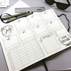 Bullet journal layout template                                                                                                                                                                                 More