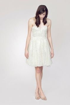 8 #Gorgeous Glitter #Wedding Dresses...