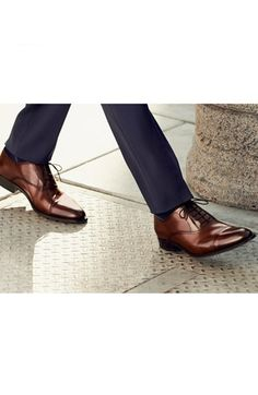 To Boot New York 'Brandon' Cap Toe Oxford (Nordstrom Exclusive) (Men) available at #Nordstrom