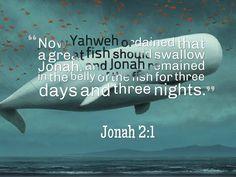Jonah 2:1 Prophet Jonah, Life Words, Word Of God, Beautiful Words, Singing, Teaching, Day, Tone Words, Pretty Words