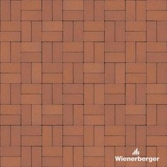 """Ready to use texture of the Wienerberger clay paver """"Cimmeria / Heide"""" laid in the block bond. Get yours on our Norwegian website. Clay Pavers, You Got This, Bond, Texture, Website, Pagan, Surface Finish"""