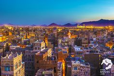 Six photos of Sanaa's Old City remind us of the history at stake in Yemen's war Six Photo, Old City, Middle East, Paris Skyline, Grand Canyon, Heritage Site, History, World, Travel