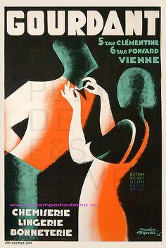 Chemiserie Lingerie Bonneterie Gourdant 1933 77X118 Imp Reunis | Flickr - Photo Sharing!
