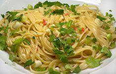 Italy meets Thailand: Linguine mit Ingwer und Kokosmilch | Rezept | Rezepte mit Bildern für die anspruchsvolle Hobbyküche