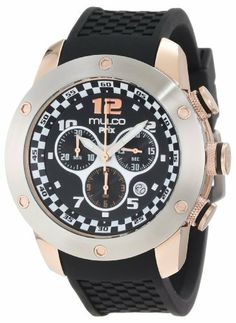 Mulco Unisex MW2-6313-025 Fashion Analog Swiss Movement with Silicone Band Watch MULCO. $295.00. Stainless steel case. Swiss movement ronda 5030d. Durable mineral crystal protects watch from scratches,. Case diameter: 46 mm. Water-resistant to 100 M (330 feet)