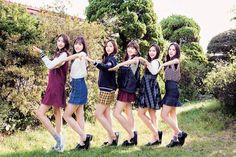 GFRIEND - Sowon, Yuju, Sinb, Yerin, Umji, Eunha