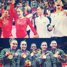 Fab Five! #gymnastics #usa @Kathy Partridge