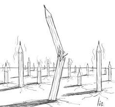 Angoulême : les auteurs dessinent pour Charlie Hebdo