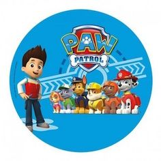 & Cake Decorating Paw Patrol Personalised Wafer Paper Topper For Large Cake Various Sizes & Garden Paw Patrol Cupcakes, Paw Patrol Cake Toppers, Paw Patrol Party, Paw Patrol Birthday, Escudo Paw Patrol, Imprimibles Paw Patrol, Paw Patrol Stickers, Amazon Auto, Football Party Supplies