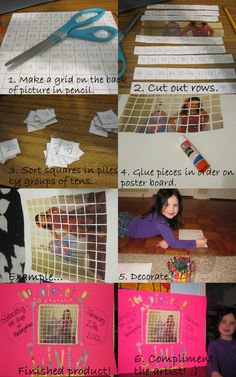 100th Day of School Project!  Great lesson in counting, sorting and patterns ;)