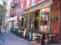 Via Della Pace. Make Food not War. 48 East 7th Street (2nd Avenue)