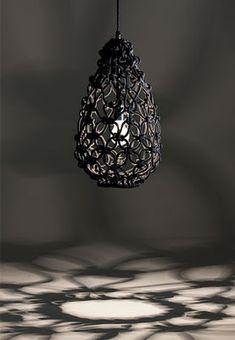 Bromeliad: Modern macrame pendant - Fashion and home decor DIY and inspiration