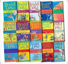 Roald Dahl Ebooks English | Epub | Pdf | 37 Titles