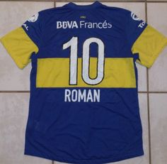 NIKE Argentina Boca Juniors Juan Roman Riquelme Soccer Jersey