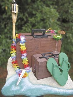 Algunos elementos para una decoración original para la fiesta hawaiana