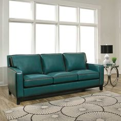Find a great collection of Leather Sofas & Sectionals at Costco. Enjoy low warehouse prices on name-brand Leather Sofas & Sectionals products. Teal Leather Sofas, Leather Sofa And Loveseat, Leather Reclining Sofa, Sofa Couch, Couch Set, Sectional Sofas, Sofa Design, Leather Living Room Set, Power Reclining Loveseat