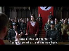 Opposition to the Nazis - Sophie Scholl - YouTube...Great jewel among films.Subtitled,but worth the read! My heart soared at this young womans courage.I want ALWAYS to be courageous!!! TRUE STORY taken from Nazi manuscripts.