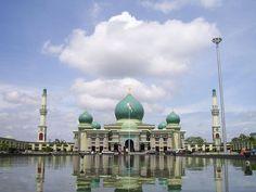 Great Mosque, Pekanbaru, Riau