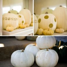 {Real Wedding} Heather & Kenny: Whimsical White Pumpkin Fall Wedding | Oh Lovely Day