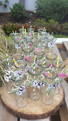 Ideas botellas decorada birthday jhonny tractor