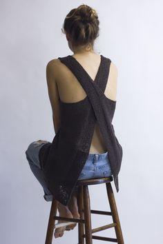 @cocoknitsjulie Maude pattern #knitting #handknit @habutextiles a-188