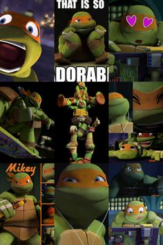 MIKEY! I like the first one :3