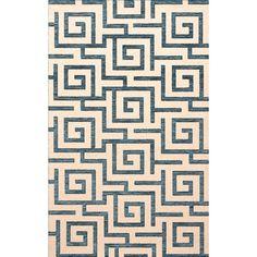 Dalyn Rug Co. Bella Beige/Blue Area Rug Rug Size: Octagon 12'