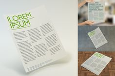 Check out Multipurpose Letter Flyer Mockup by Xpshl on Creative Market
