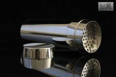 1950s Cocktail Shaker Wilhelm Wagenfeld for WMF Silver plated