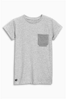 Next Ecru Textured T-Shirt (3-16yrs) £7