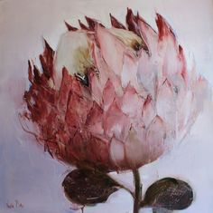RED the Gallery in Cape Town stocks contemporary South African art. Colorful Artwork, Art Painting, Artist Inspiration, Floral Art, Naive Art, Protea Art, Diy Art, Abstract Flowers, Art Display