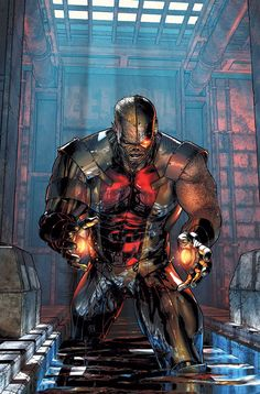 Deathlok: The Demolisher by Charlie Huston - Marvel Comics - ISBN 10 - ISBN 13 - Preparing Deathlok: The Demolisher… Marvel Comic Character, Comic Book Characters, Comic Book Heroes, Marvel Characters, Comic Books Art, Comic Art, Book Art, Marvel Villains, Character Art