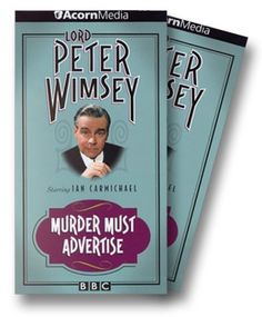 Lord Peter Wimsey - Murder Must Advertise [VHS] VHS ~ Ian Carmichael, http://www.amazon.com/dp/B00004W201/ref=cm_sw_r_pi_dp_OHzarb0NNK1FG
