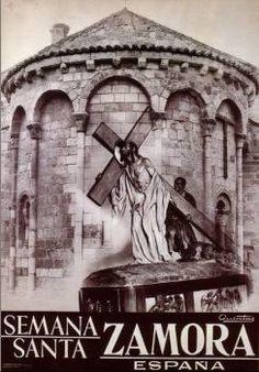 Cartel de la Semana Santa de Zamora. Redención.