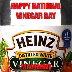 November 1, 2014 - National Vinegar Day
