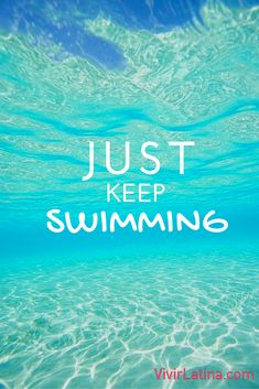 just keep swimming #frases #lifestyle #natacion