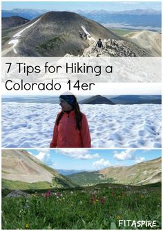 7 Tips for Hiking a Colorado 14er. Skip the learning curve and have a great first experience with these practical tips. #bucketlist