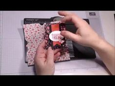 Envelope Punch Board project 2 of 6 - YouTube