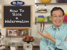 VIDEO How to Cut a Watermelon   MrFood.com