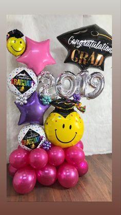 Graduation Balloons, Graduation Decorations, Balloon Decorations, Balloon Gift, Kindergarten Graduation, Balloon Bouquet, Christmas Bulbs, Congratulations, Centerpieces